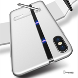 New-Man Series Auto-Fit Magnetic Aluminum Case for iPhone XS Max