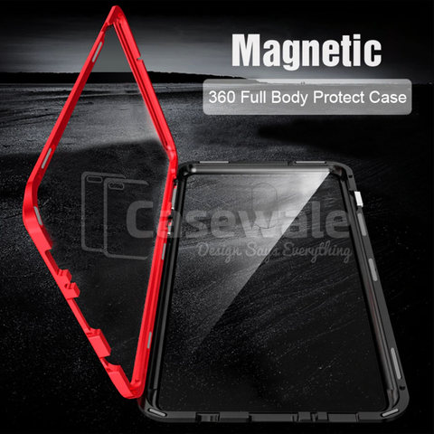LUPHIE 2nd Generation Dual Color Magnetic Glass Case ( SALE )