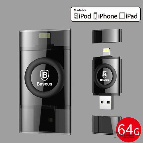 MFI 64GB USB Flash Drive for Apple iPhone/ iPad