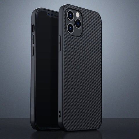 Ultra Thin Carbon Fiber Protective Case for iPhone 12 Series