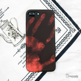 Apple iPhone 8, 8 Plus Touch Sensitive Color Changing Back Cover
