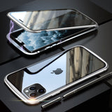 Double Sided Magnetic Glass Case for Apple iPhone