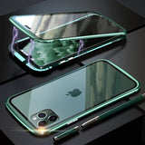 Double Sided Magnetic Glass Case for iPhone 11 Series