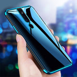 Luxury High-end Fashion Transparent Case For Oppo F11 Pro