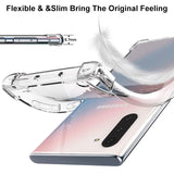 Luxury Transparent Airbag Bumper Case for Galaxy Note 10 / 10 Plus