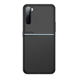 IQS Design Soft Leather Texture Case with Magnetic Car Vent for Oneplus Nord