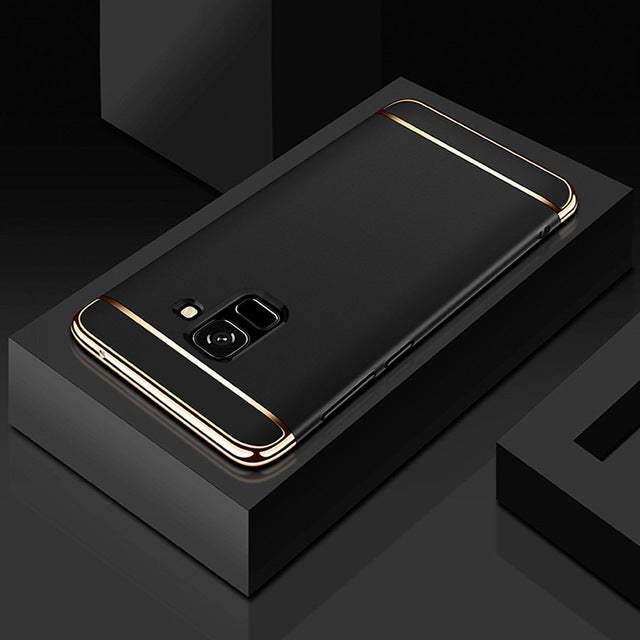 Luxury Electroplating 3 in 1 Case for Samsung Galaxy J6