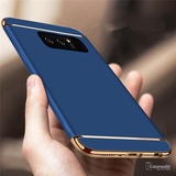 Luxury Gold Plating 3 in 1 Back Case for Samsung Galaxy Note 8