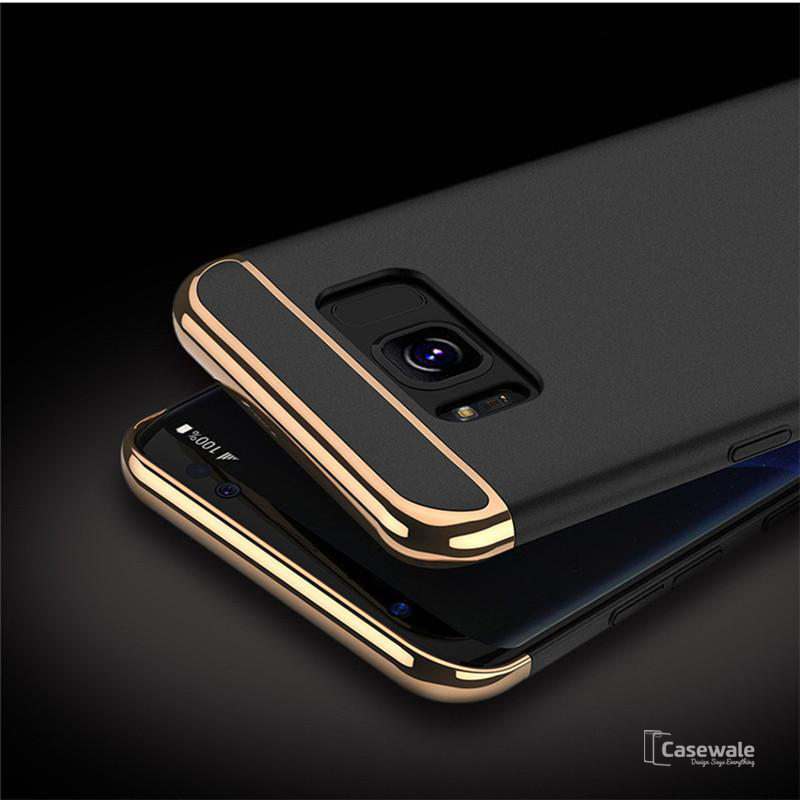 detailed pictures 1ec8b c2012 Luxury Gold Plating 3 in 1 Back Case for Samsung Galaxy Note 8