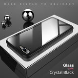 Original Back Tempered Glass Transparent Case For iPhone 8, 8 Plus