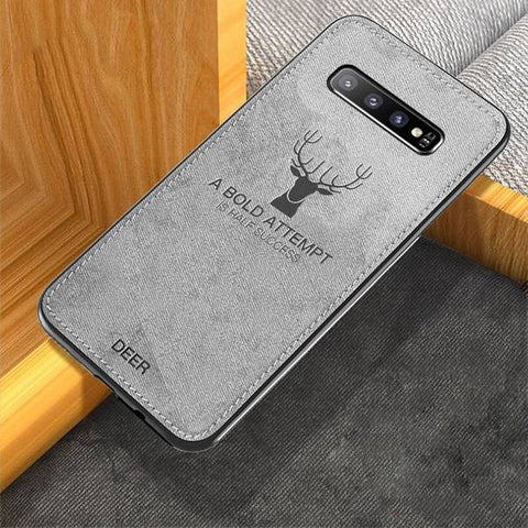 Deer Pattern Inspirational Soft Case for Galaxy S10/ S10 Plus
