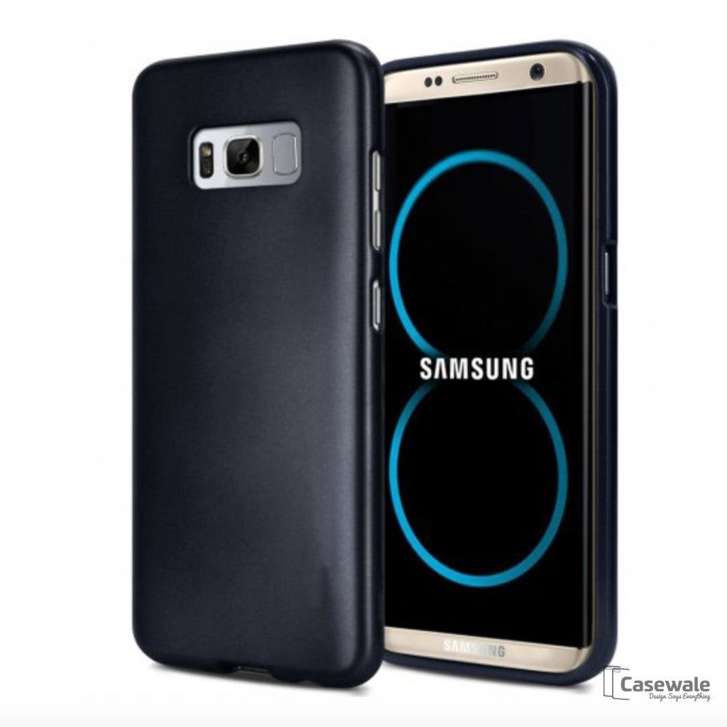 Elegant Soft Silicone Hybrid Shockproof Case for Galaxy S8 & S8 Plus