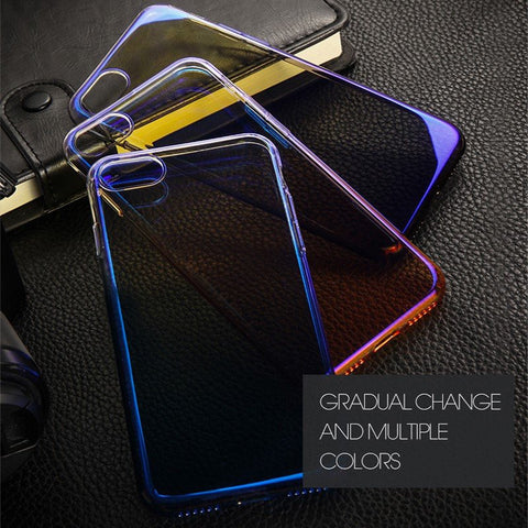 Luxury Ultra thin Aura Gradient Pc Color Hard Case
