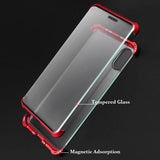 Frameless Magnetic Double Sided Glass Case for iPhone