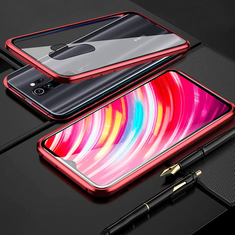 Electronic Auto-Fit Magnetic Glass Case for Redmi Note 8 / Note 8 Pro