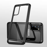 Transparent Hybrid Shockproof Bumper Case for Galaxy S20/ S20 Plus