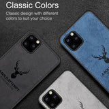 Deer Pattern Inspirational Soft Case for iPhone 11 Series