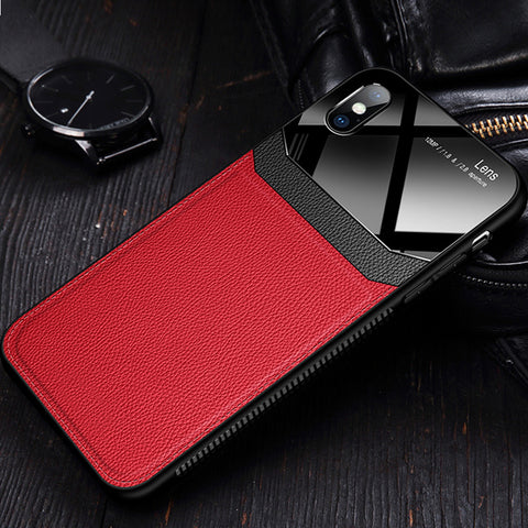 Leather Lens Luxury Card Holder Case for iPhone XR