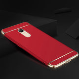 3 in 1 Luxury Electroplating Case for Xiaomi Redmi 5