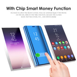 Original Clear View Touch Flip Sensor Case for Samsung Galaxy Note 8