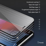 Original 5D Anti Blue Light Tempered Glass for iPhone X