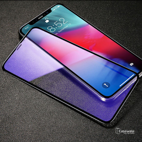 Original 5D Anti Blue Light Tempered Glass for iPhone XS Max