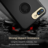 iPhone 8/ 8 Plus Luxury PC Combo TPU Protective Shell Back Cover