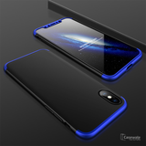 360 Full Body Hard Matte Protective Case For iPhone XS