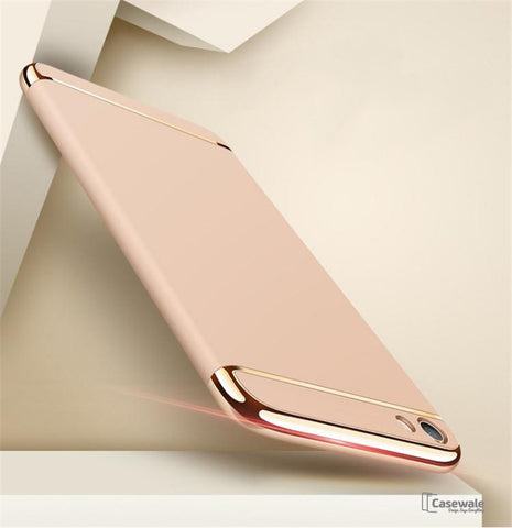 Oppo F1s Ultra Thin Luxury Gold Plating Case