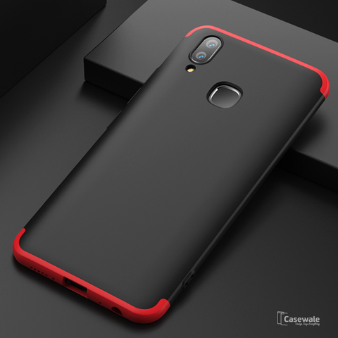 360 Full Body Protection Hard Matte Case For Vivo V9