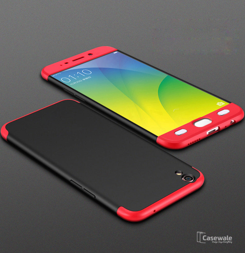 on sale c5758 ed782 3 in 1 Ultimate 360 Degree Protection Case for Oppo F1 Plus