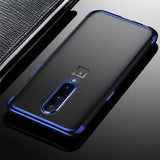 Luxury High-end Fashion Transparent Plated Case for OnePlus 7 Pro
