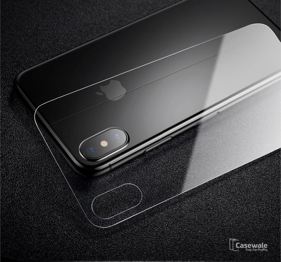 Iphone X 5d Round Curved Edge Tempered Glass Front Back Protector Oppo F3 3d Full Cover White Premium Pro