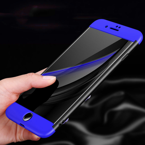 360 Protection Hard Phone Case for Apple iPhone