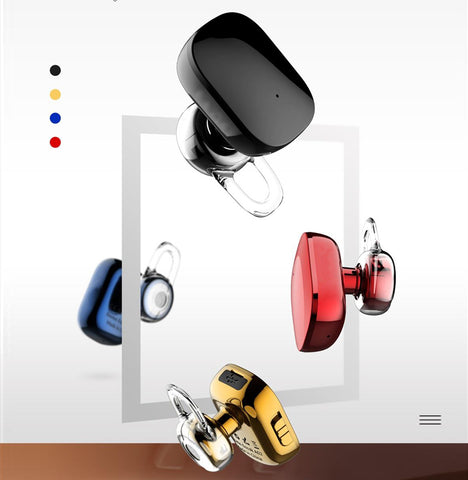 Mini Wireless Bluetooth Earphone for iPhone 5 6 7 Samsung S8 In-Ear Stereo Earpiece Headset With Mic