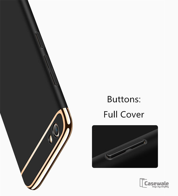 Oppo F1s Ultra Thin Luxury Gold Plating Case Casewale