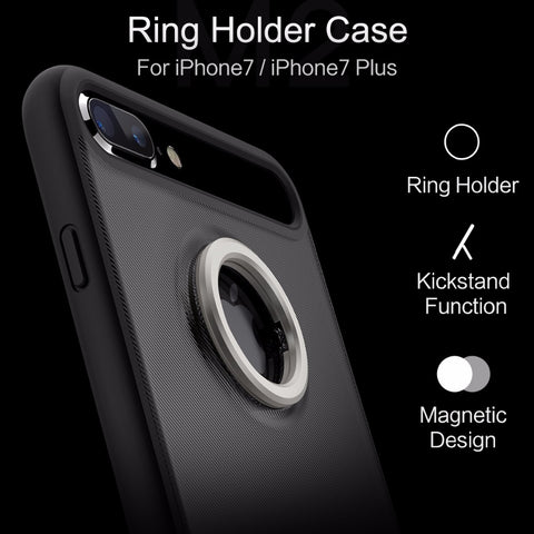 Ring Holder magnetic Case For Iphone