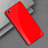 Smooth Luxury Ultra Thin Glass Shell Case for Oppo Realme 1