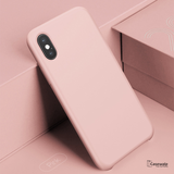 Baseus Silky Feel Liquid Silicone Protective Case for iPhone X