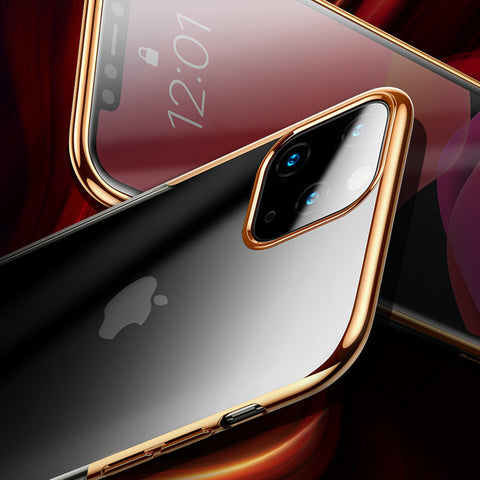 High-end Fashion Transparent Plated Case for iPhone 11 Series