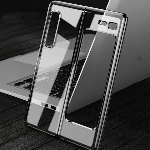 Luxury High End Transparent Case for Galaxy Z Fold 2