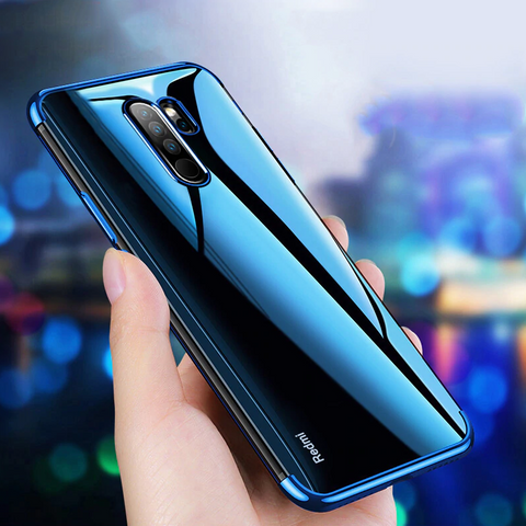 High-end Fashion Transparent Case for Redmi Note 8 / 8 Pro