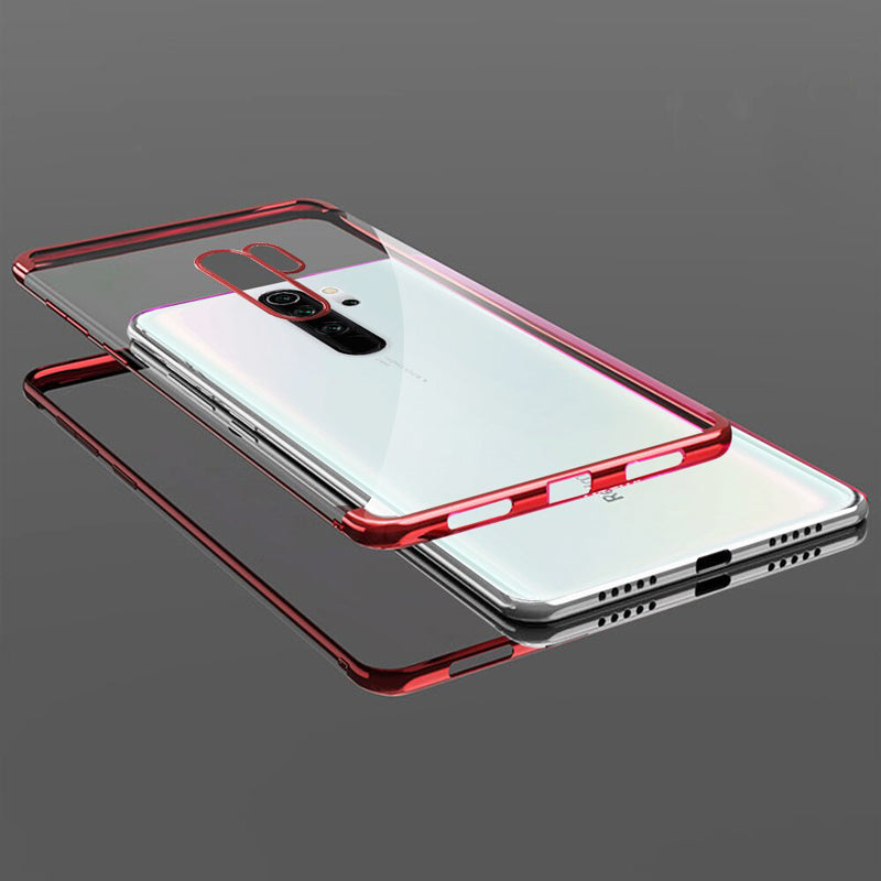 High-end Fashion Transparent Case for Redmi Note 8 Pro