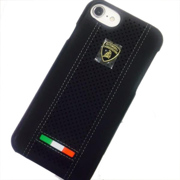 Lamborghini Genuine Leather Case for iPhone 7/ 7 Plus
