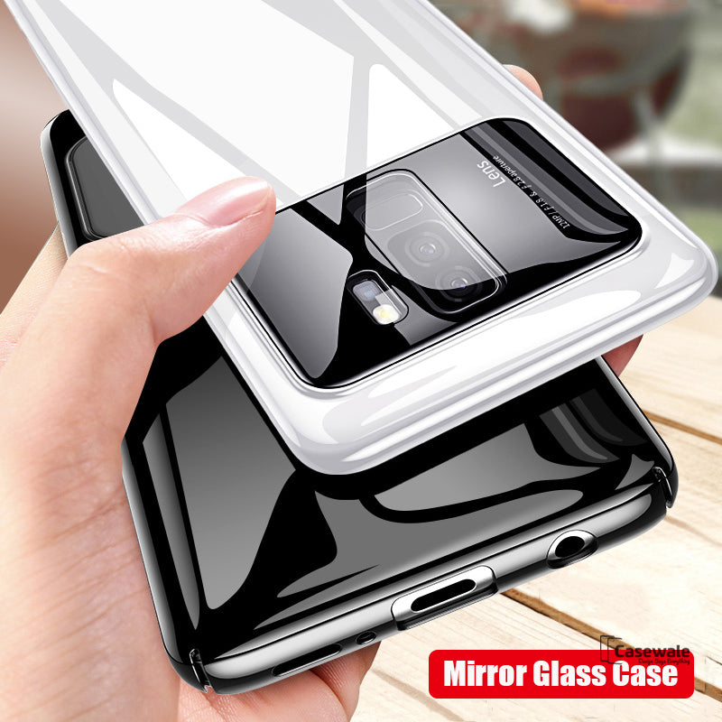 new product 029b5 37626 Luxury Mirror Effect Ultra Thin Phone Case for Galaxy J8
