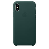 Leather Case for iPhone X Series- Forest Green