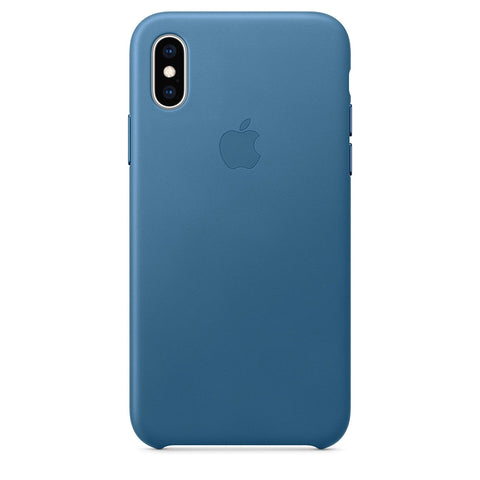 Leather Case for iPhone X Series- Cape Cod Blue