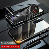 LUPHIE 2nd Generation Dual Color Magnetic Glass Case for VIVO V15 Pro