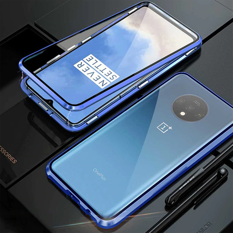 Electronic Auto-Fit Magnetic Case for OnePlus 7T / 7T Pro