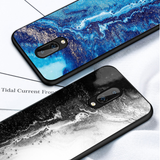 Fantasy Ink Pattern Luxury Marble Case for ONEPLUS 7 / 7 PRO